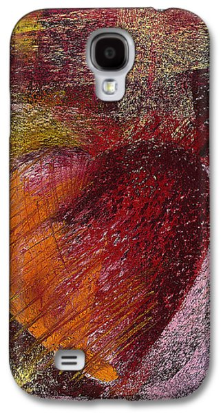 Surrealism Pastels Galaxy S4 Cases - Valentine Heart Galaxy S4 Case by David Patterson