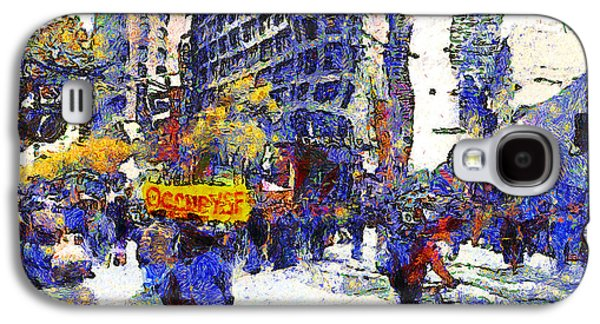 Occupy Galaxy S4 Cases - Van Gogh Occupies San Francisco . 7D9733 Galaxy S4 Case by Wingsdomain Art and Photography