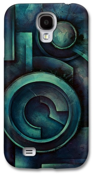 Geometric Design Galaxy S4 Cases - Vault Galaxy S4 Case by Michael Lang