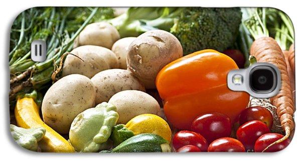 Local Food Galaxy S4 Cases - Vegetables Galaxy S4 Case by Elena Elisseeva