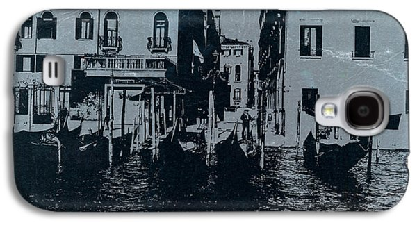 Old Town Digital Art Galaxy S4 Cases - Venice Galaxy S4 Case by Naxart Studio