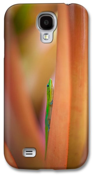 Chameleon Galaxy S4 Cases - Vertical Galaxy S4 Case by Mike Reid