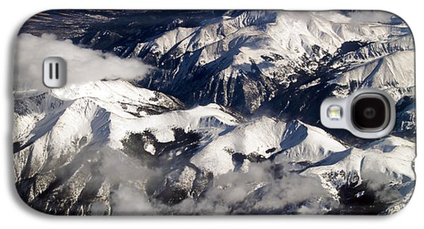 Terra Firma Galaxy S4 Cases - View From Above IV Galaxy S4 Case by Patricia Griffin Brett