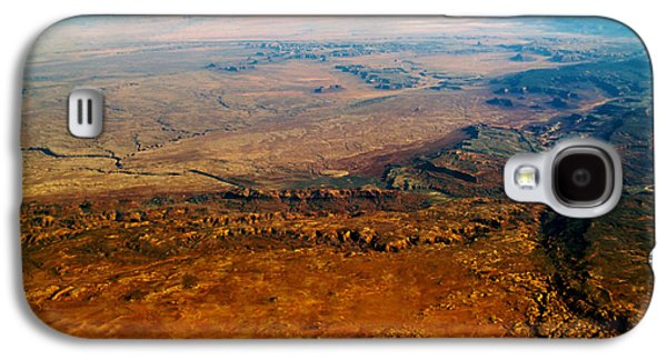 Terra Firma Galaxy S4 Cases - View From Above VI Galaxy S4 Case by Patricia Griffin Brett