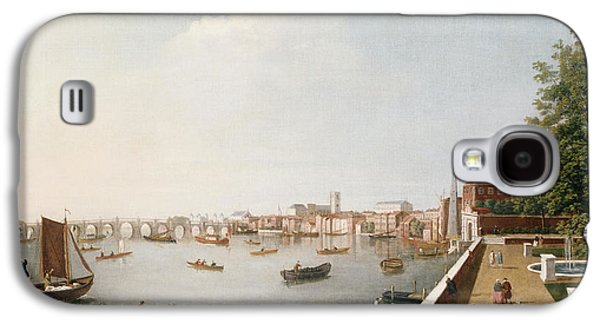 View Of The River Thames From The Adelphi Terrace  Galaxy S4 Case by William James