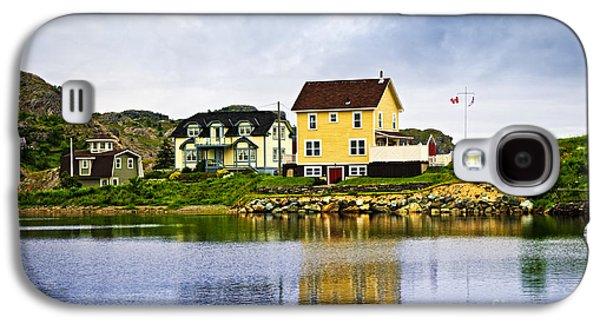 Fishing Village Galaxy S4 Cases - Village in Newfoundland Galaxy S4 Case by Elena Elisseeva