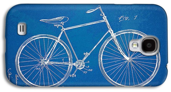 Engineer Galaxy S4 Cases - Vintage Bicycle Patent Artwork 1894 Galaxy S4 Case by Nikki Marie Smith