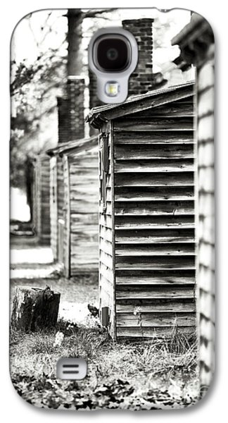 Pine Barrens Galaxy S4 Cases - Vintage Cabins Galaxy S4 Case by John Rizzuto