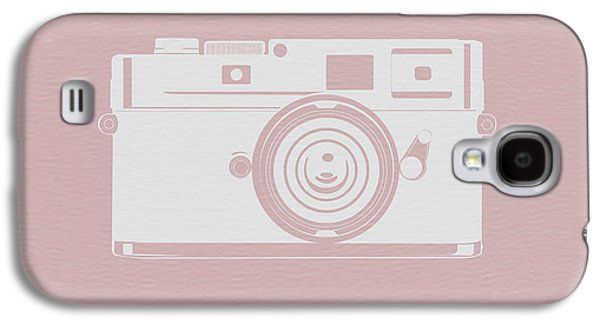 Vintage Camera Poster Galaxy S4 Case by Naxart Studio