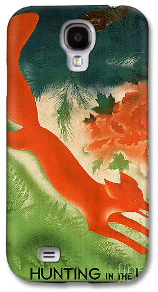 Vixen Digital Galaxy S4 Cases - Vintage Hunting in the USSR Travel Poster Galaxy S4 Case by George Pedro
