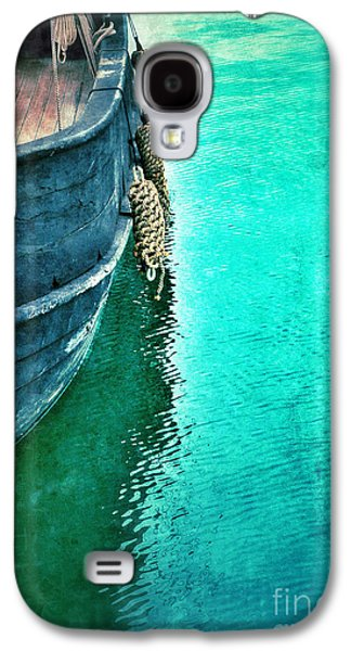 Vintage Ship Galaxy S4 Case by Jill Battaglia