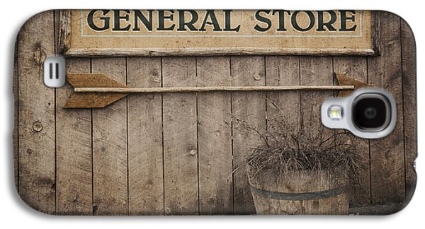 Rustic Galaxy S4 Cases - Vintage sign General Store Galaxy S4 Case by Jane Rix