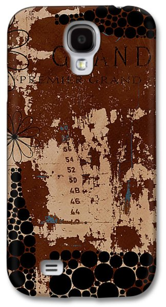 Wine Deco Art Galaxy S4 Cases - Vintage Wine Galaxy S4 Case by Frank Tschakert