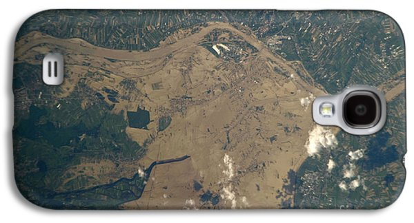 River Flooding Galaxy S4 Cases - Vistula River Flooding, Southeastern Galaxy S4 Case by NASA/Science Source