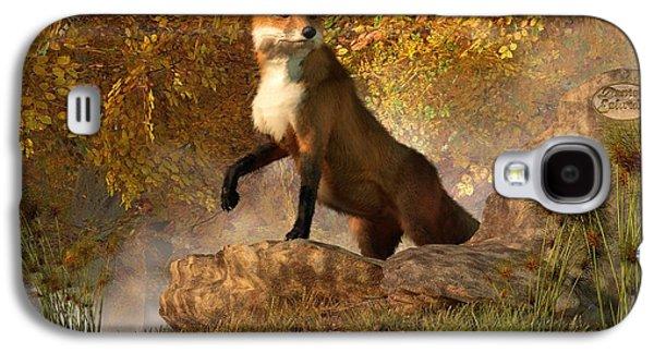 Fox Digital Galaxy S4 Cases - Vixen by the River Galaxy S4 Case by Daniel Eskridge
