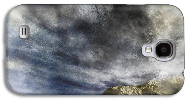 Storm Prints Mixed Media Galaxy S4 Cases - Vortex In The Sky Galaxy S4 Case by Georgiana Romanovna