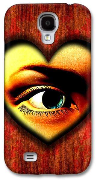 Psychiatry Galaxy S4 Cases - Voyeurism, Conceptual Artwork Galaxy S4 Case by Stephen Wood