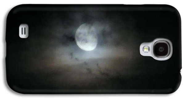 Mystifying Galaxy S4 Cases - Walking With The Moon Galaxy S4 Case by Rory Sagner