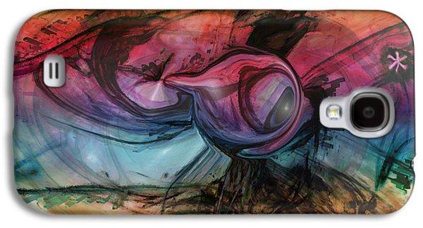 Wandering Star Galaxy S4 Cases - Wandering Star Galaxy S4 Case by Linda Sannuti