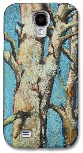Winter Scene Pastels Galaxy S4 Cases - Warming Light Galaxy S4 Case by Marlene Gremillion