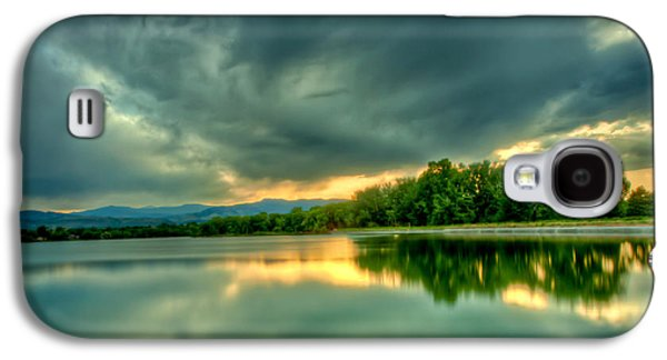 Fort Collins Galaxy S4 Cases - Warren Lake at Sunset Galaxy S4 Case by Anthony Doudt