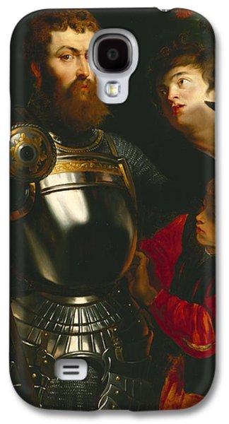 Warrior  Galaxy S4 Case by Peter Paul Rubens