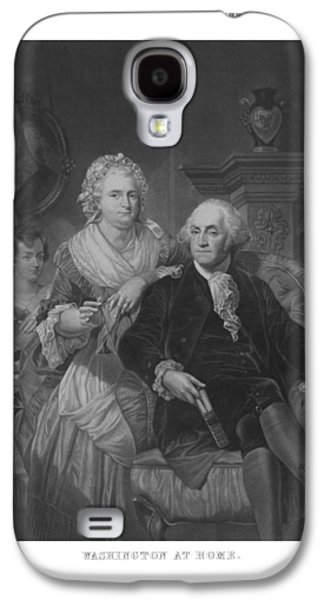 Martha Galaxy S4 Cases - Washington At Home Galaxy S4 Case by War Is Hell Store