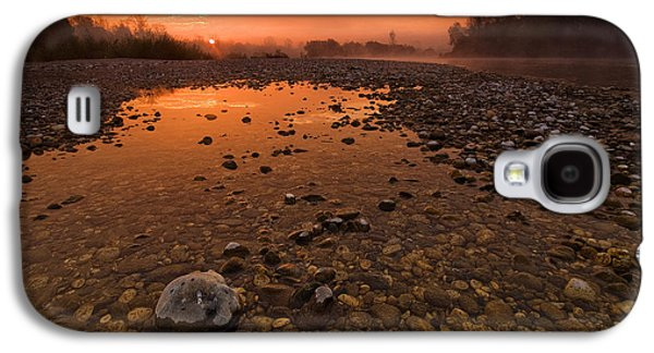 Outdoors Galaxy S4 Cases - Water on Mars Galaxy S4 Case by Davorin Mance