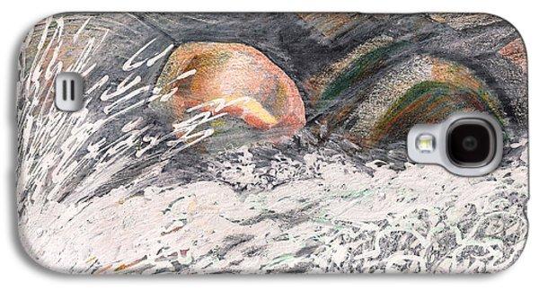 River Road Spring Melt Galaxy S4 Case by Al Goldfarb