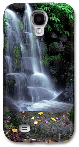 Beautiful Scenery Galaxy S4 Cases - Waterfall Galaxy S4 Case by Carlos Caetano