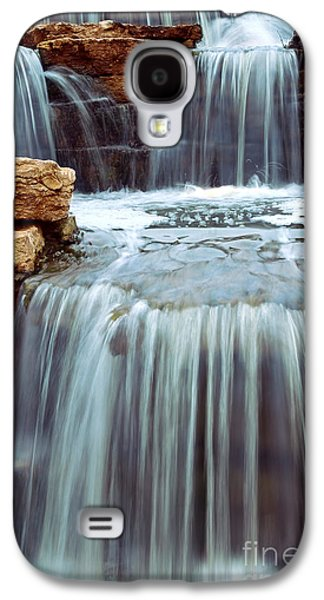 Landscapes Photographs Galaxy S4 Cases - Waterfall Galaxy S4 Case by Elena Elisseeva