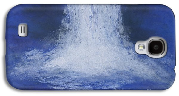 Waterscape Pastels Galaxy S4 Cases - Waterfall Galaxy S4 Case by Ginny Neece