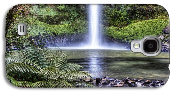 Beautiful Scenery Galaxy S4 Cases - Waterfall Galaxy S4 Case by Les Cunliffe