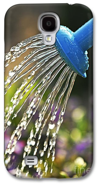 Pour Photographs Galaxy S4 Cases - Watering flowers Galaxy S4 Case by Elena Elisseeva