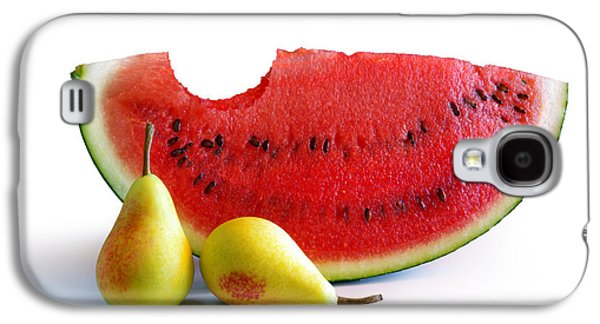 Juice Galaxy S4 Cases - Watermelon and Pears Galaxy S4 Case by Carlos Caetano
