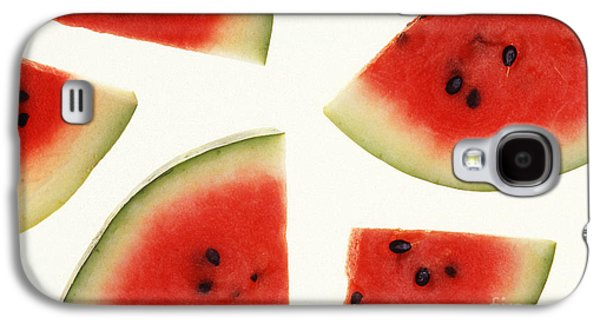 Summer Photographs Galaxy S4 Cases - Watermelon Galaxy S4 Case by Photo Researchers