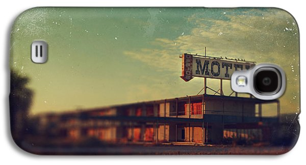 Dilapidated Digital Galaxy S4 Cases - We Met at the Old Motel Galaxy S4 Case by Laurie Search