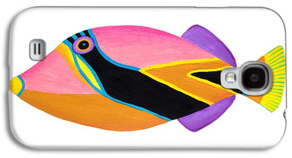 Wedge Tail Triggerfish  Galaxy S4 Case by Opas Chotiphantawanon