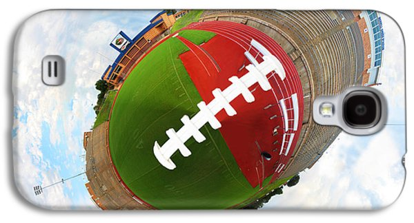 Wide Receiver Galaxy S4 Cases - Wee Football Galaxy S4 Case by Nikki Marie Smith