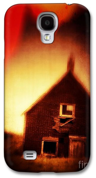 Creepy Galaxy S4 Cases - Welcome to Hell House Galaxy S4 Case by Edward Fielding