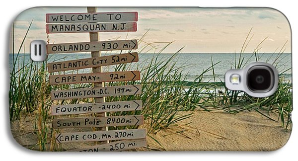 Signed Photographs Galaxy S4 Cases - Welcome to Manasquan Galaxy S4 Case by Robert Pilkington