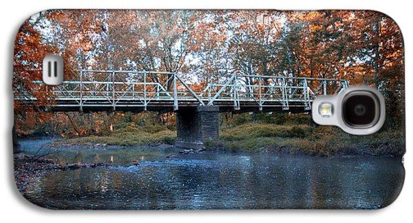 Philadelphia Cricket Galaxy S4 Cases - West Valley Green Road Bridge along the Wissahickon Creek Galaxy S4 Case by Bill Cannon