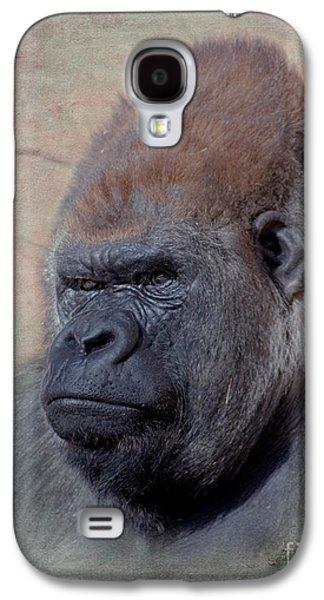 Gorilla Digital Galaxy S4 Cases - Western Lowland Gorilla Galaxy S4 Case by Betty LaRue