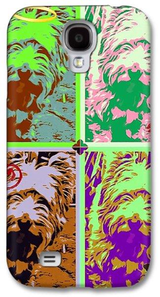 Westie Digital Galaxy S4 Cases - Westie Craz Galaxy S4 Case by Tisha McGee