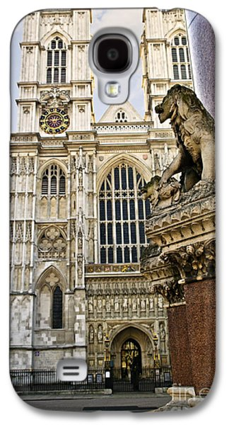 Ancient Galaxy S4 Cases - Westminster Abbey Galaxy S4 Case by Elena Elisseeva
