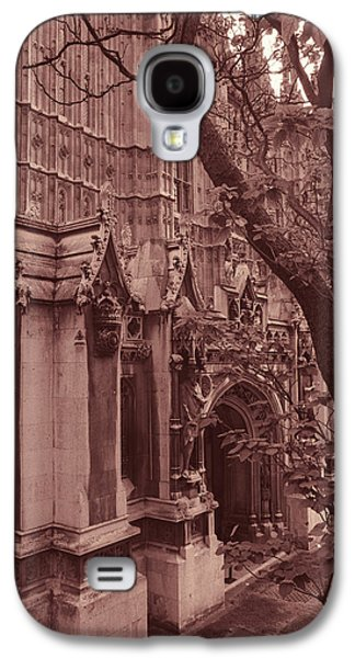 Architecture Framed Prints Galaxy S4 Cases - Westminster Abbey Galaxy S4 Case by Kathy Yates