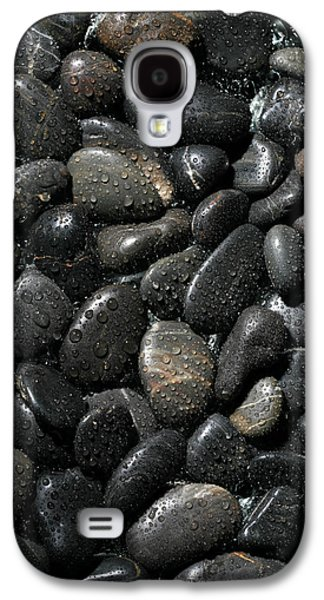 Best Sellers -  - Studio Photographs Galaxy S4 Cases - Wet River Rocks  Galaxy S4 Case by Michael Ledray