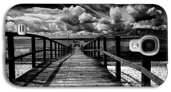 Beaches Galaxy S4 Cases - Wharf at Southend on Sea Galaxy S4 Case by Sheila Smart