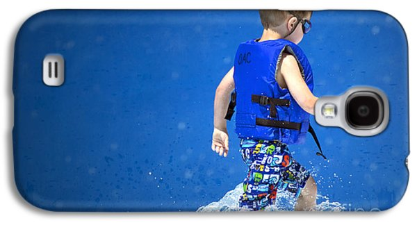 Water Play Galaxy S4 Cases - What Life Is All About Galaxy S4 Case by Gwyn Newcombe