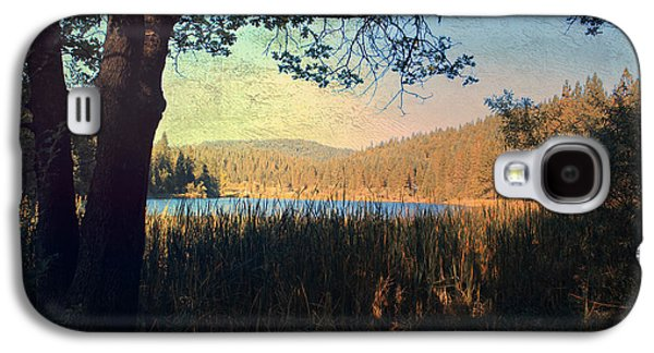 Autumn Landscape Digital Art Galaxy S4 Cases - When Im In Your Arms Galaxy S4 Case by Laurie Search